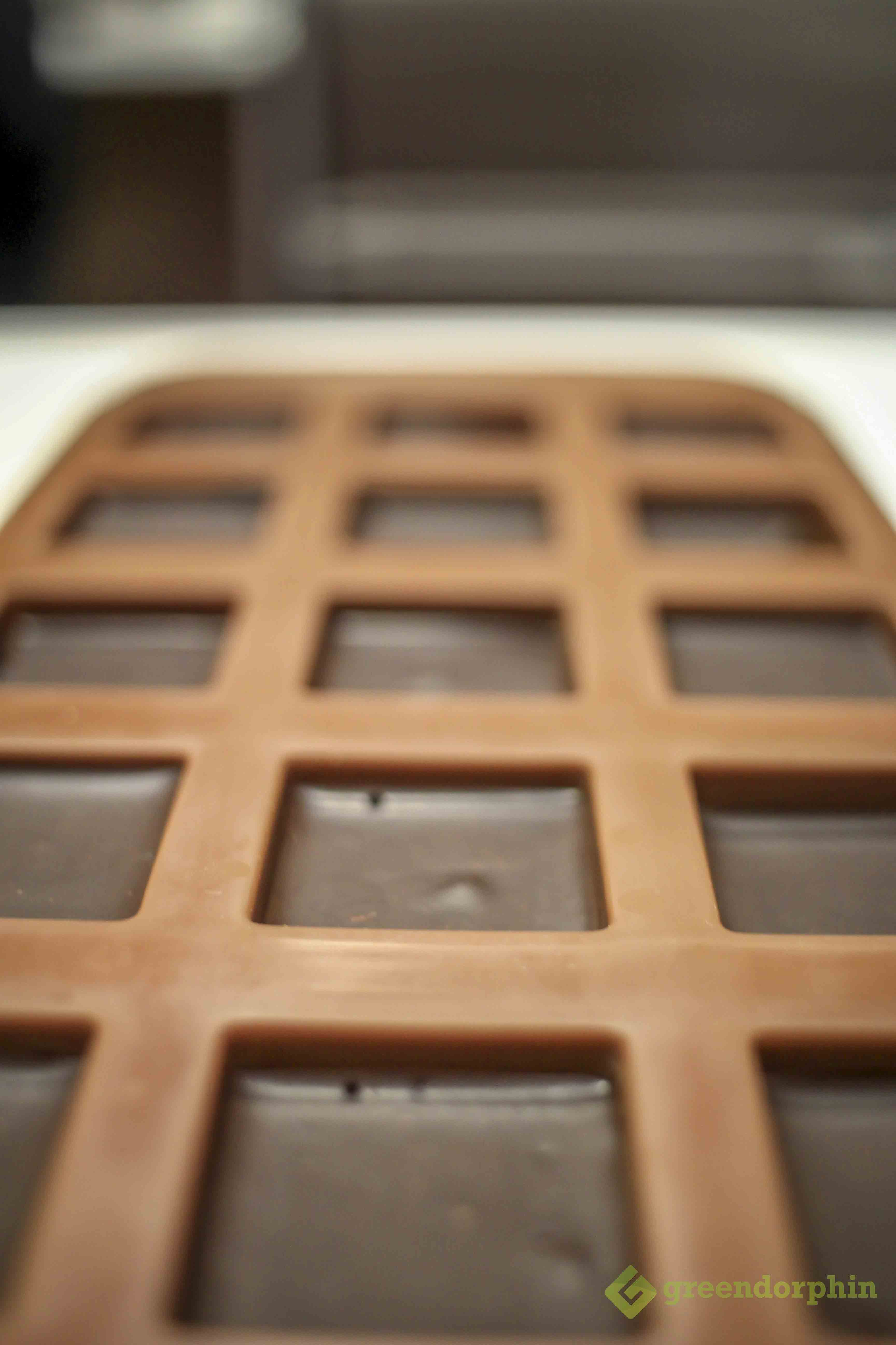 Cannabis Chocolate bars in mould is better than smoking marijuana