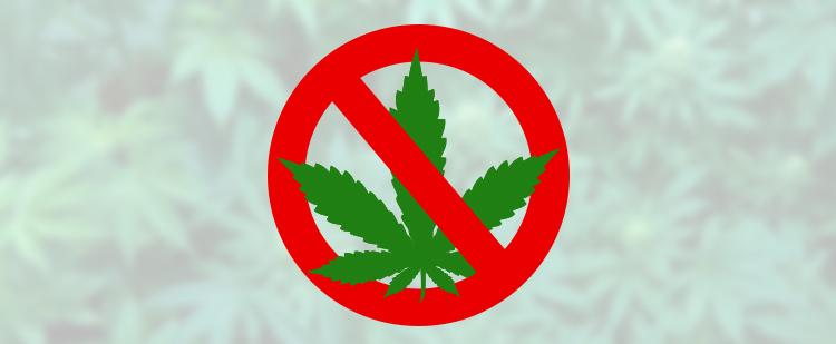 No marijuana legalization yet