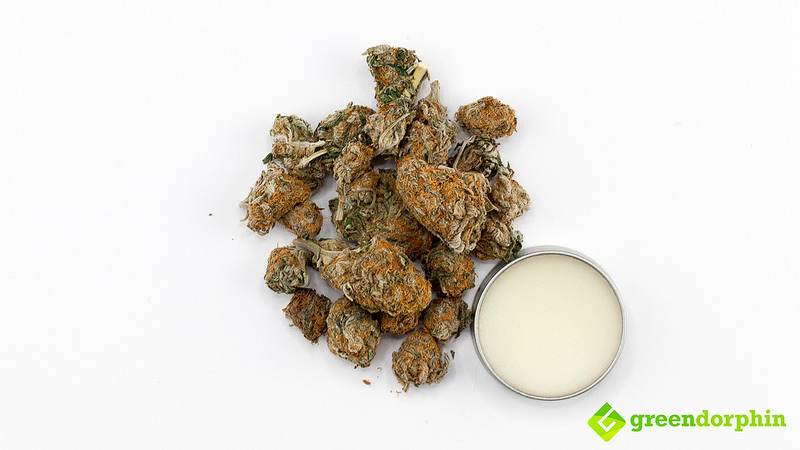Cannabis Topical for treating skin conditions