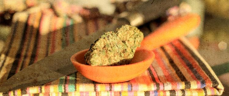 cooking with marijuana
