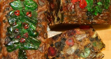 Have a Heavenly Bite of Cannabis Christmas Fruitcake