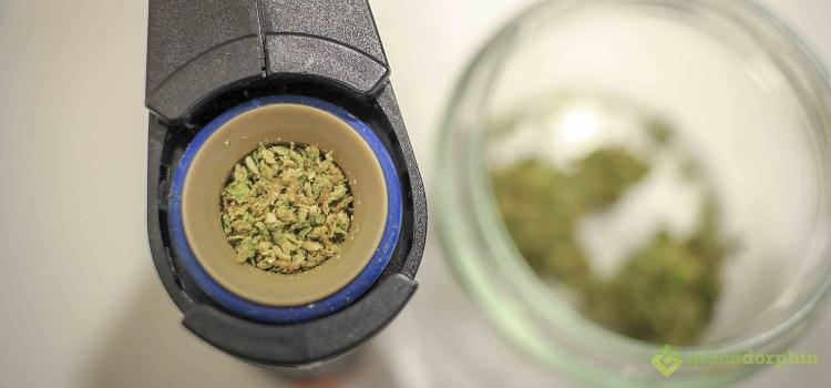 Crafty Vaporizer - vaporizing cannabis