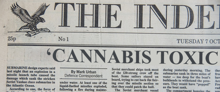 Cannabis was demonized in early 1900