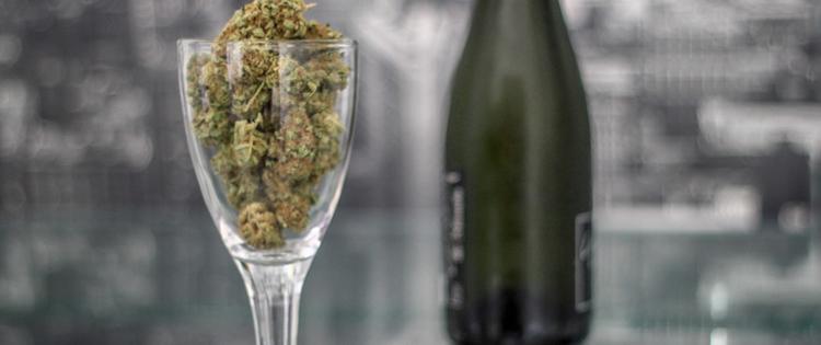 Cannabis wine tincture