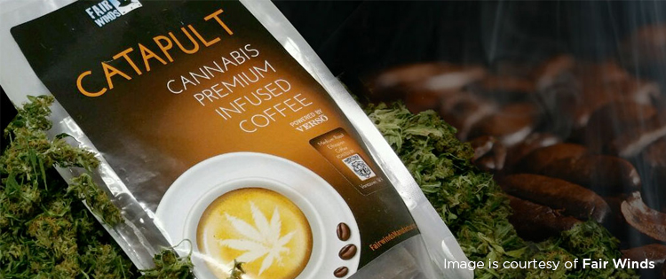Cannabis-infused coffee