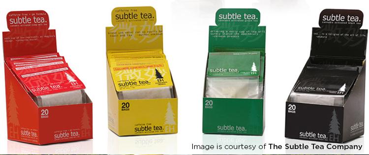 Cannabis-infused teas
