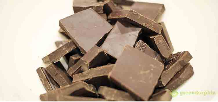 cannabis chocolate ganache