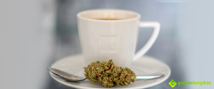 Ingestion is also possible via drinking and non-alcoholic Cannabis drinks like cannabis coffee.