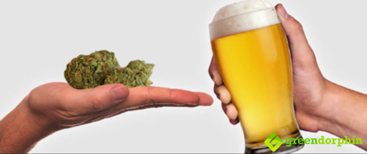 cannabis vs beer
