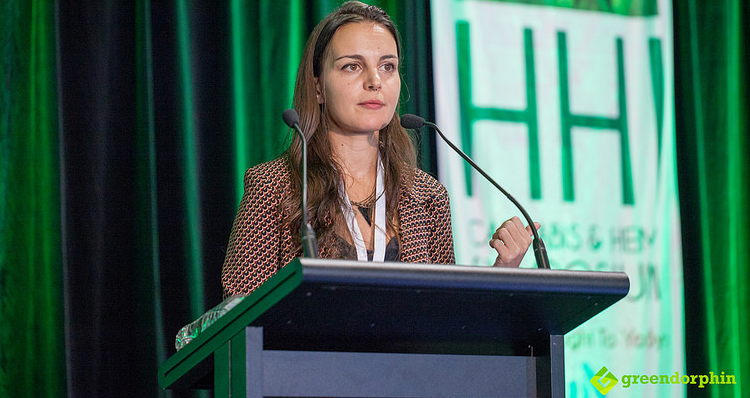 Researcher Viola Brugnatelli - Hemp Health Innovation Expo in Sydney