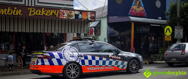 Police in Nimbin