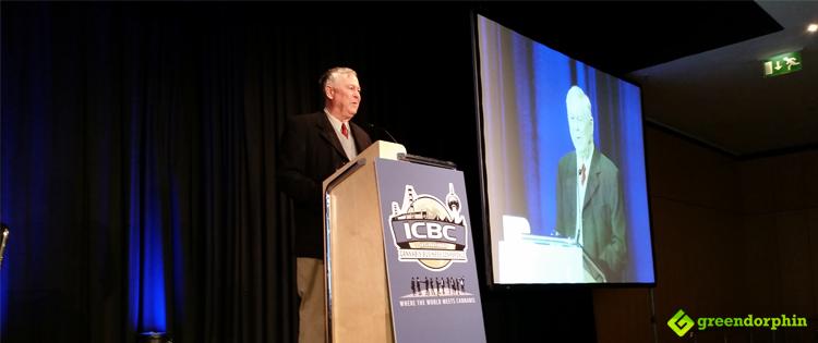 Congressman Dana Rohrebacher in the ICBC
