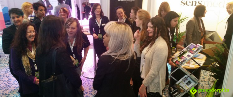 Women at the ICBC in Berlin