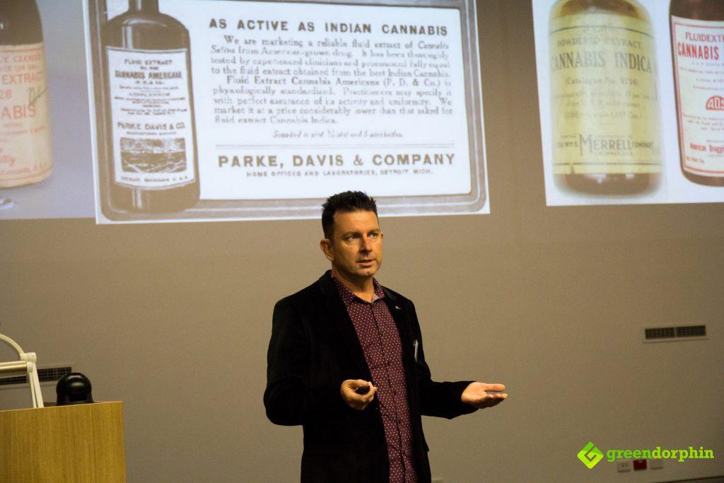 Paul Mavor - MCRA (Medical Cannabis Research Australia) symposium for health professionals