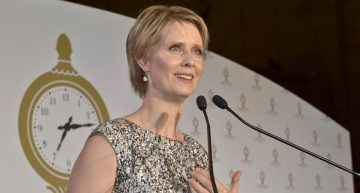 Cynthia Nixon Puts Legalizing Marijuana Forefront of Her Campaign