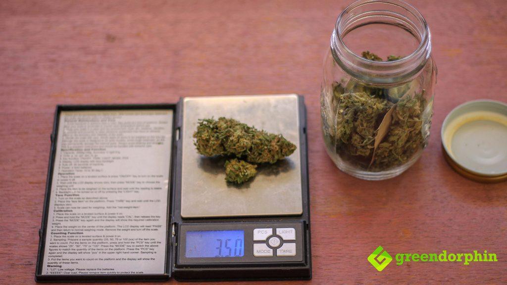 eighth of marijuana
