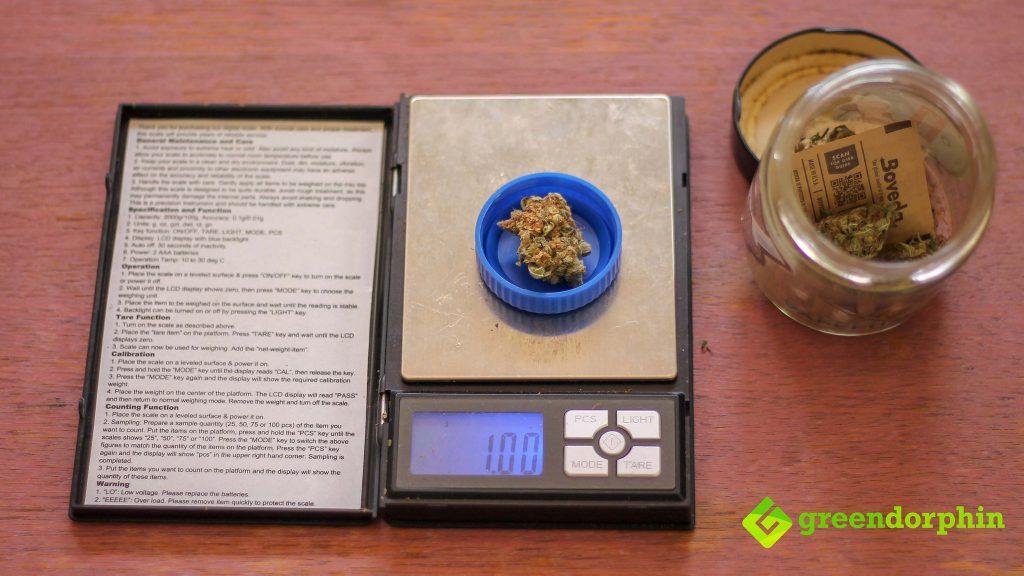 1g marijuana