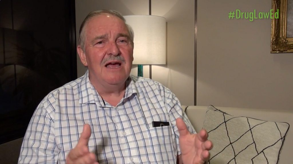 David Nutt, professor of psychoneuropharmacology in the United Kingdom