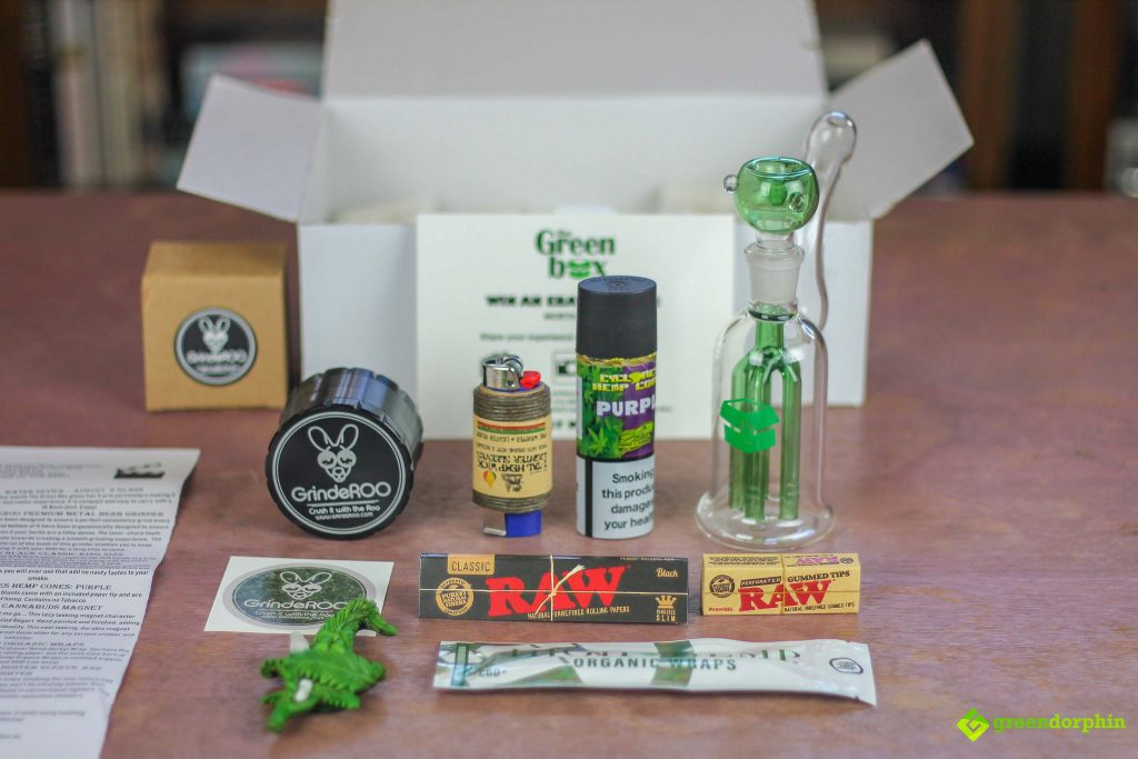 Weed Subscription Box Full Box