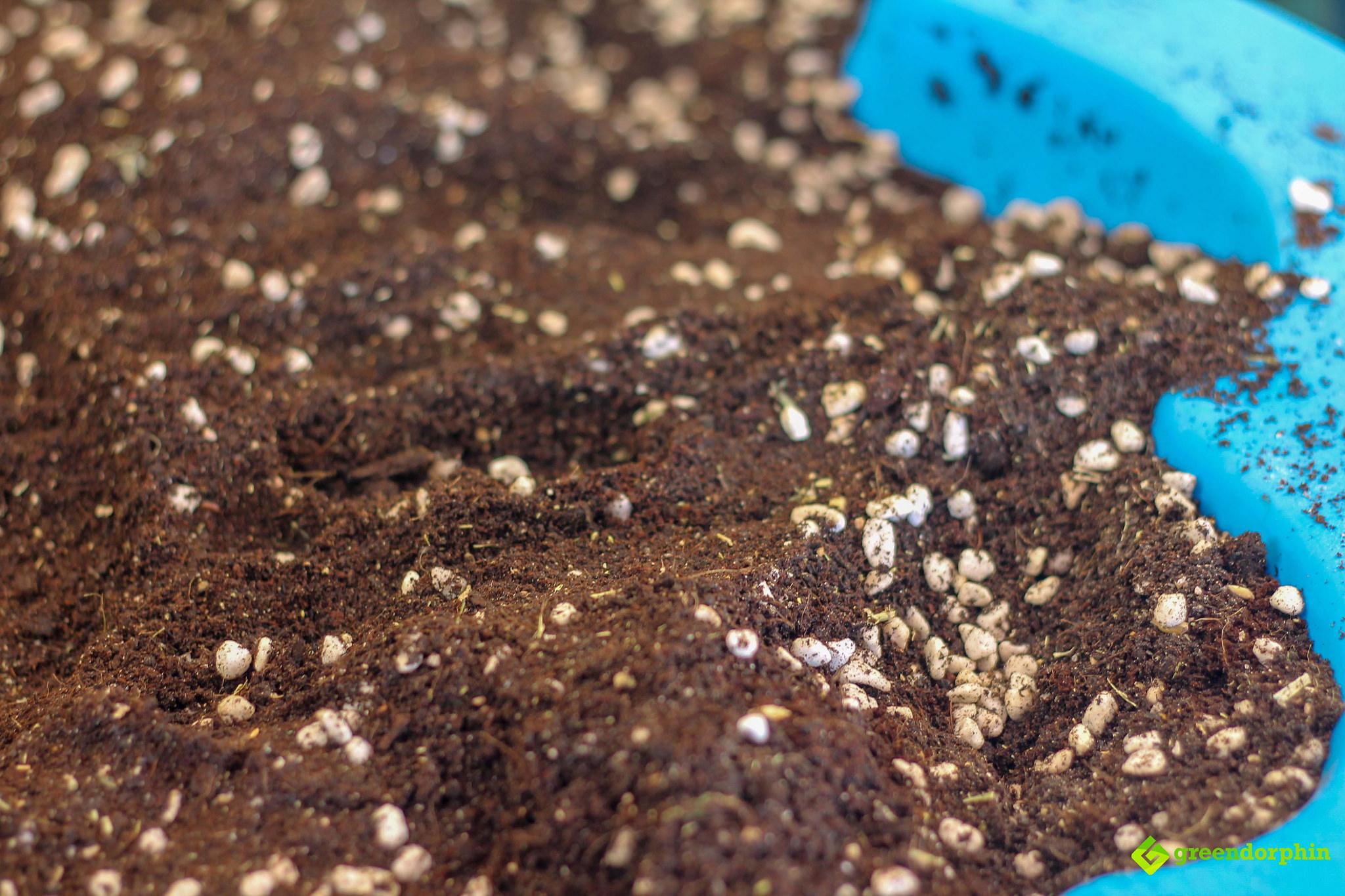 No-Till Soil blending