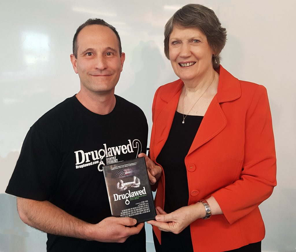 Helen Clark Joins the Global Commission on Drug Policy - with Arik Reiss