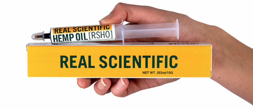 Real Scientific Hemp Oil Maximum Strength
