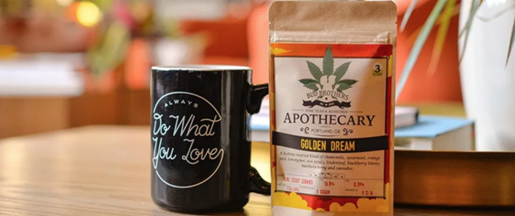 The Brothers Apothecary Hemp-Derived CBD Infused Tea
