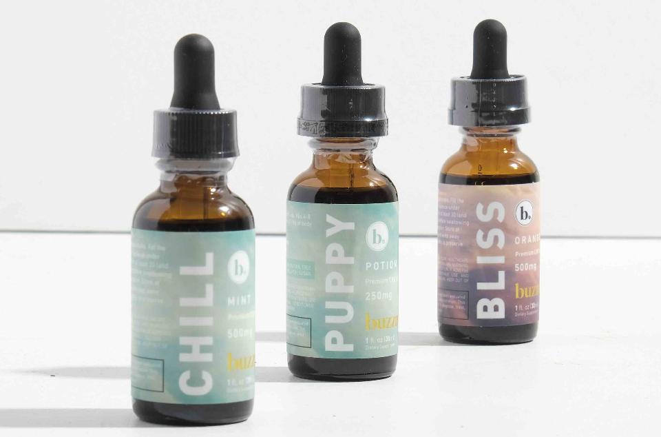 buzzn CBD oils